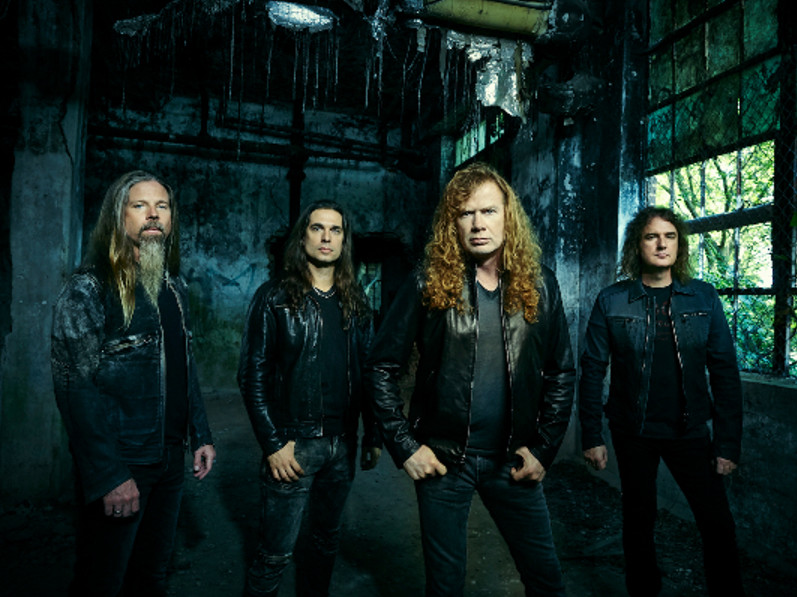Megadeth - Return To Australia With Children of Bodom This October